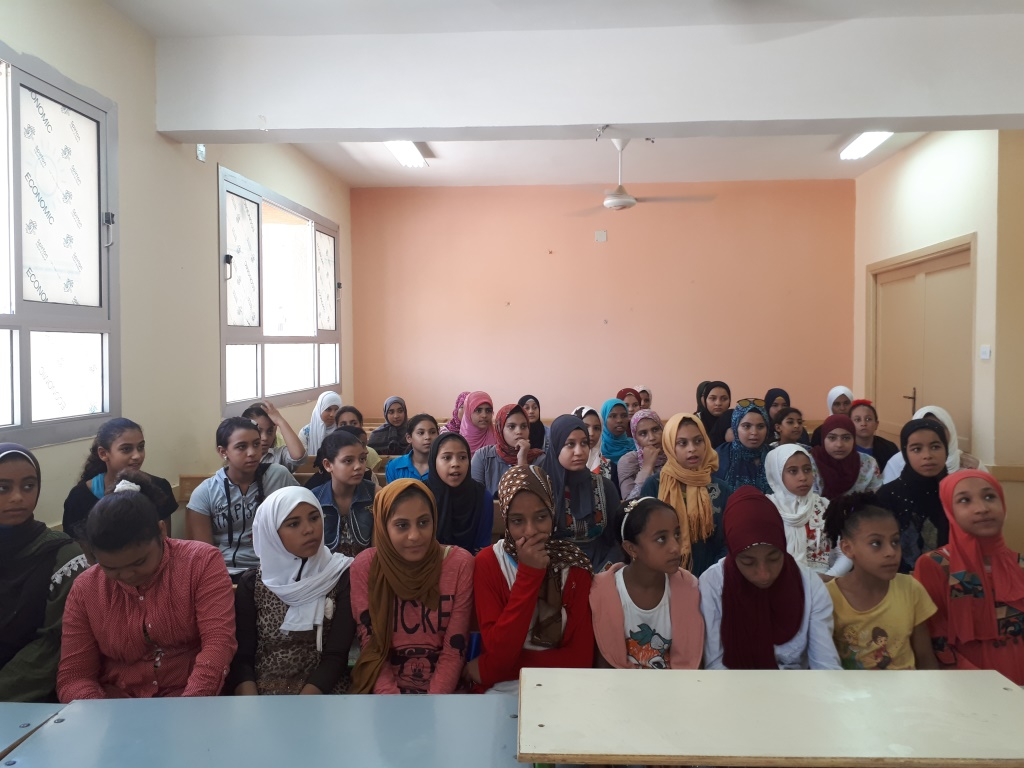 Awareness Session in Tahya Masr 1 School