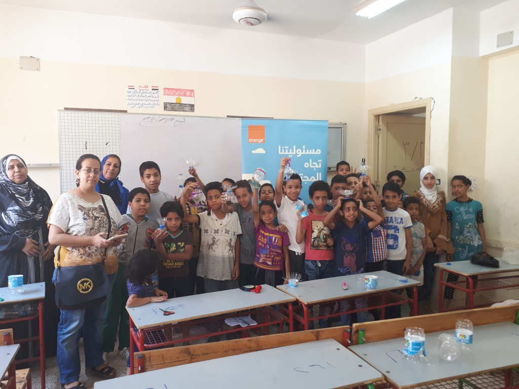 Awareness Session in Tahya Masr 2 School