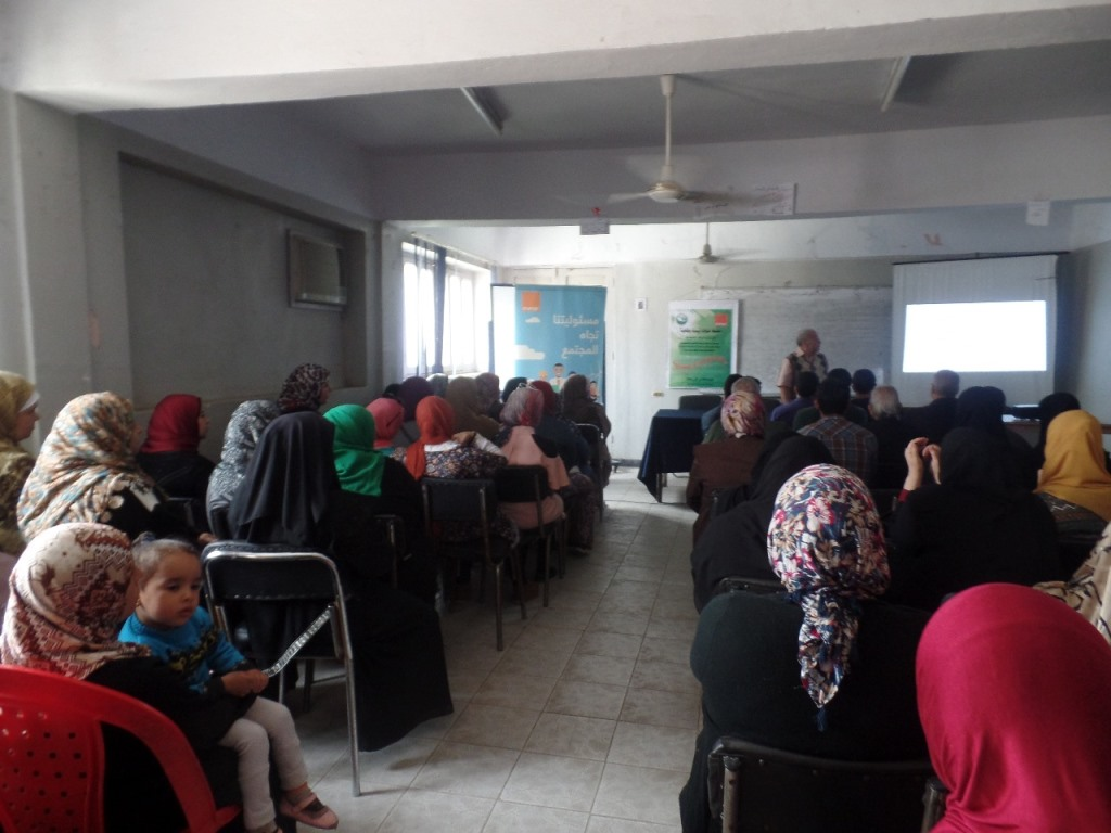 Awareness Session in Damanhour