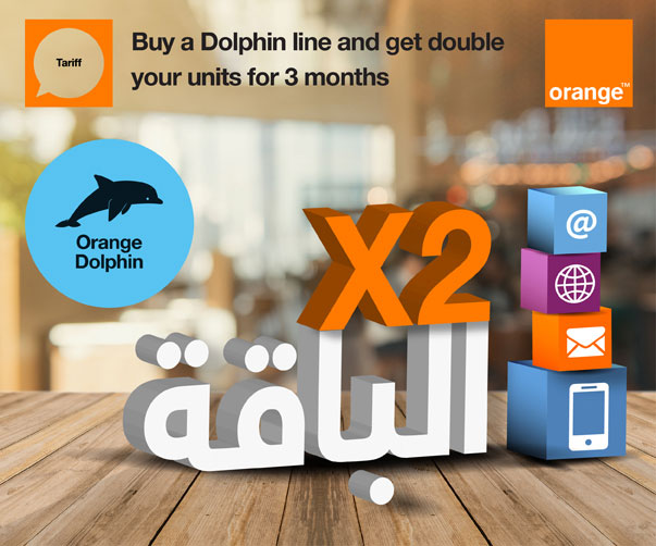 Dolphin Double Your Bucket Offer Orange Egypt
