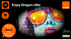 Dragon Offer at Happy Vision and Aviator