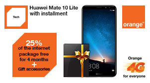 Huawei Mate 10 smartphone Offer