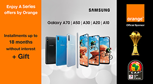 AFCON Samsung A Series offer