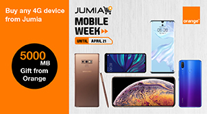 Orange and Jumia Mobile Week offer