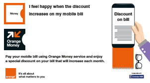 3 months bill payment promo from Orange Money